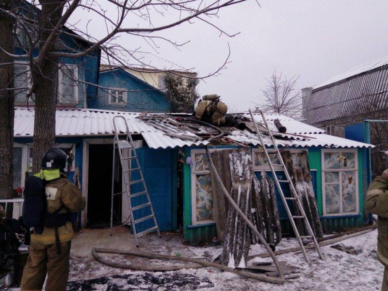 В поселке Большое Полпино произошел пожар