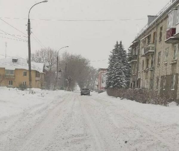 Жители Фокино возмутились бездействием чиновников во время снегопада