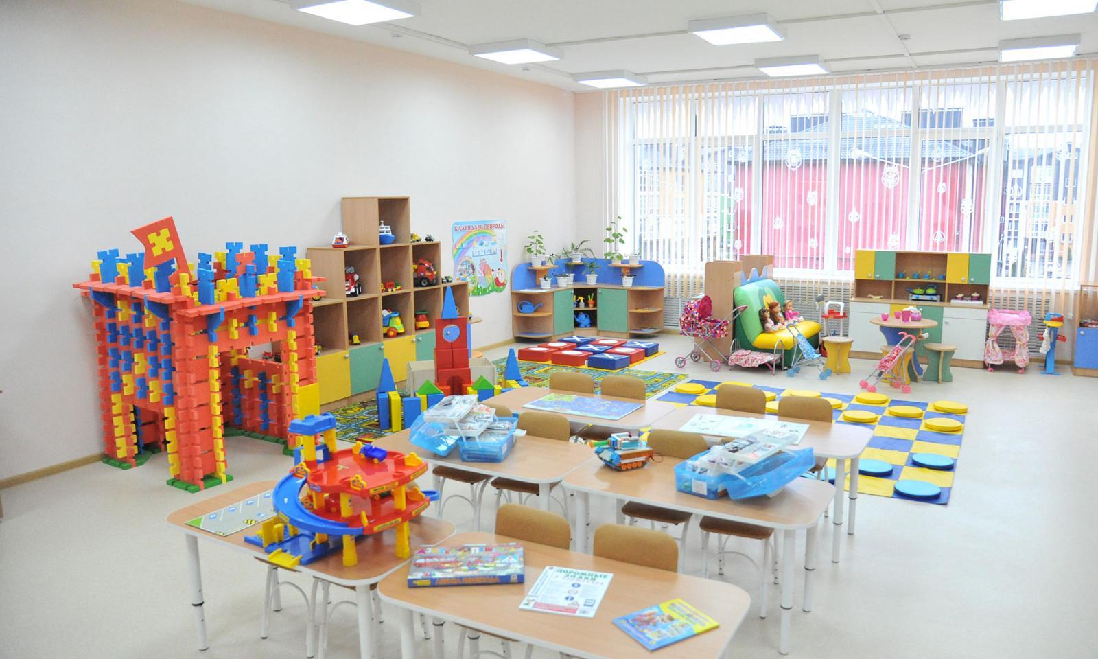 В брянском поселке Путевка открылся современный детсад «Мегаполис»