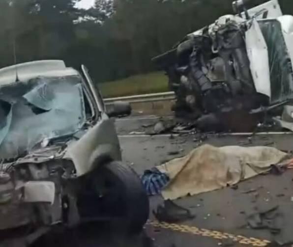 В жутком ДТП под Калугой погибли двое брянцев