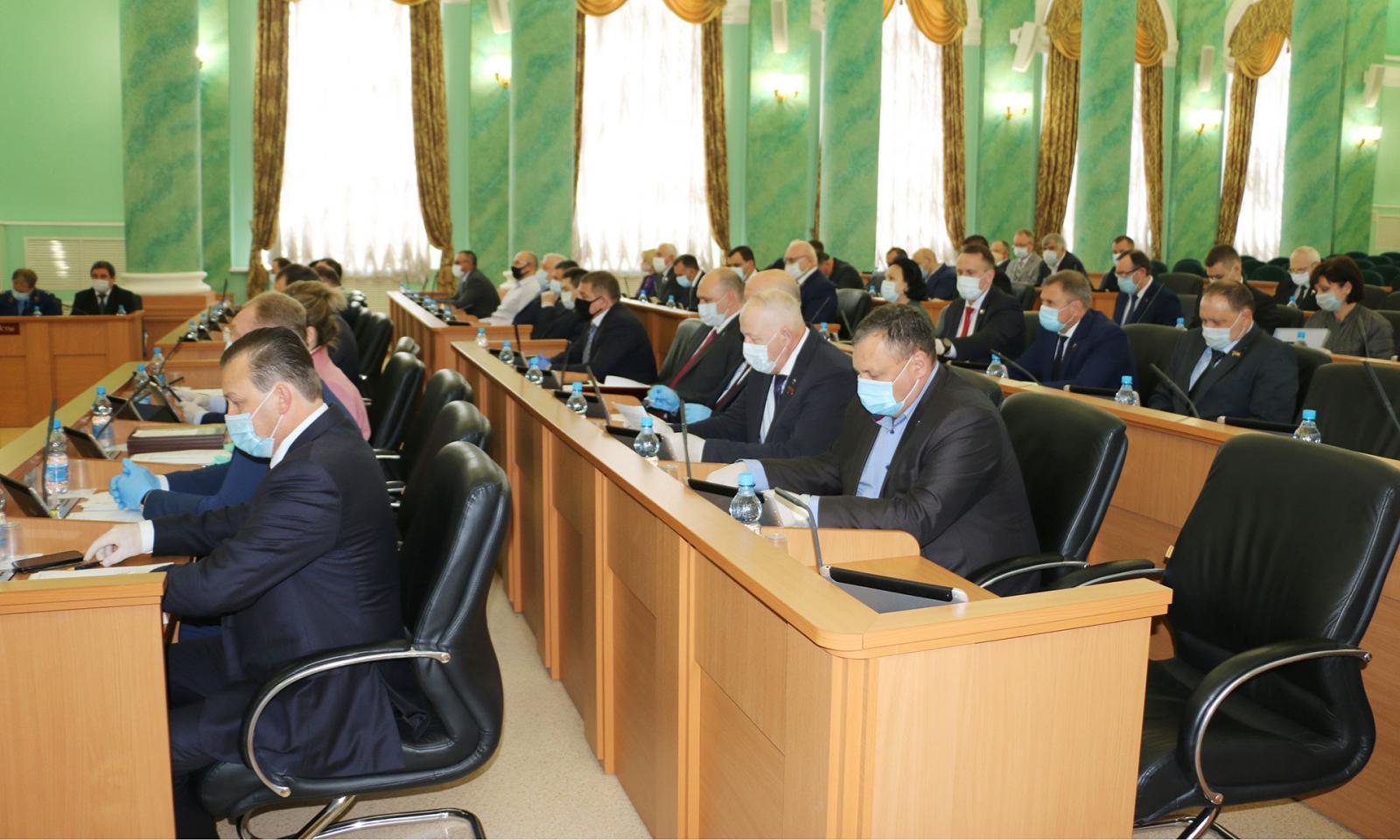 Брянская облдума утвердила в третьем чтении бюджет региона до 2023 года