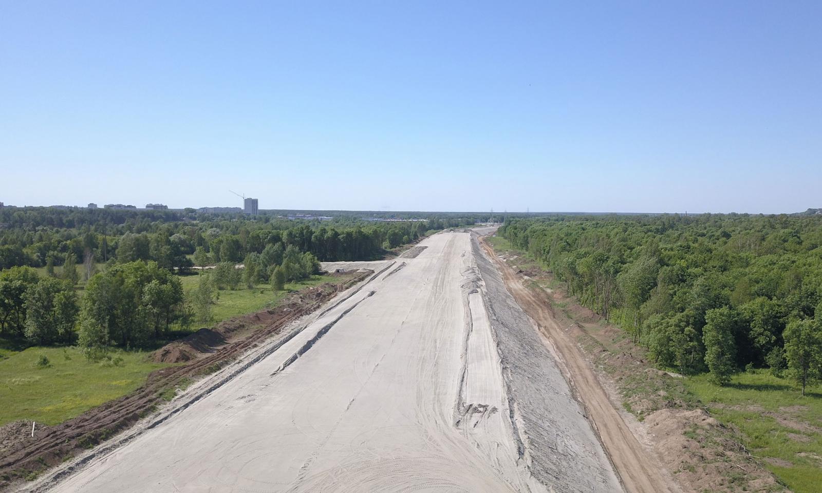 Новая дорога разгрузит транспортный поток через центр Брянска