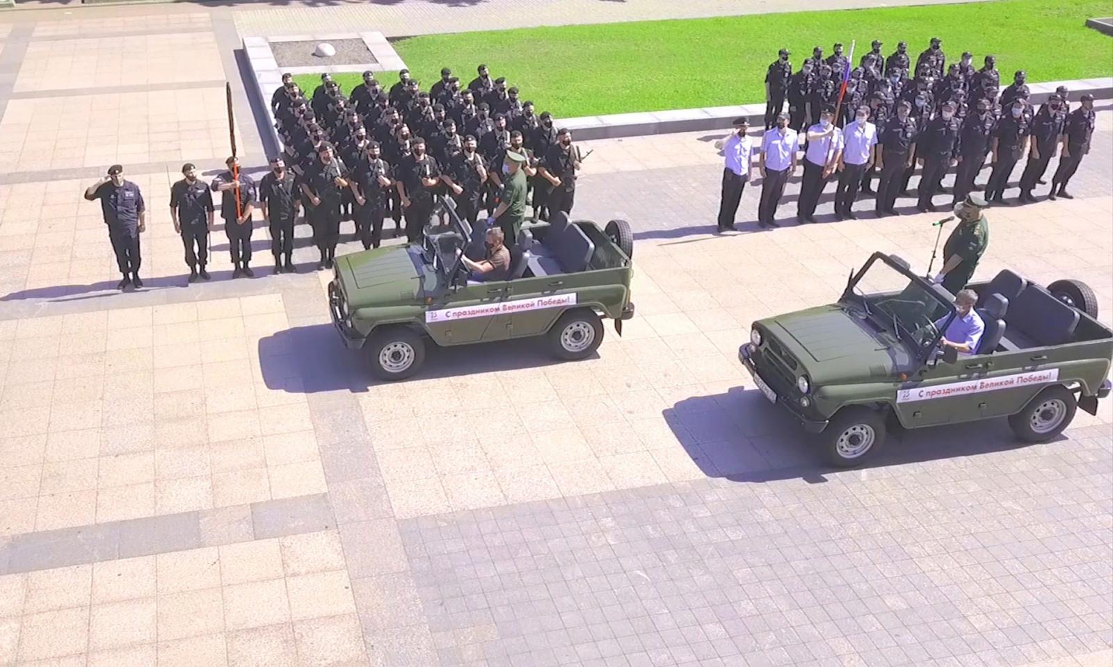 Жителям Брянска покажут прямую трансляцию марша Победы