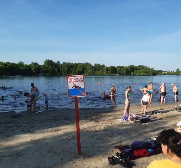 Брянцы наплевали на рекомендации медиков и толпой отправились купаться