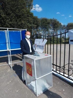 Брянский депутат Артем Ашеко принял участие в голосовании по поправкам в Конституцию