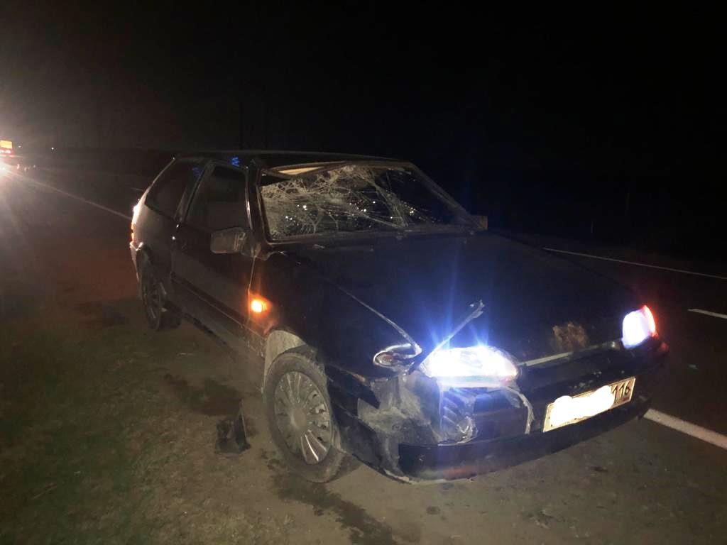 В Рогнедино пьяный водитель без прав сбил пешехода