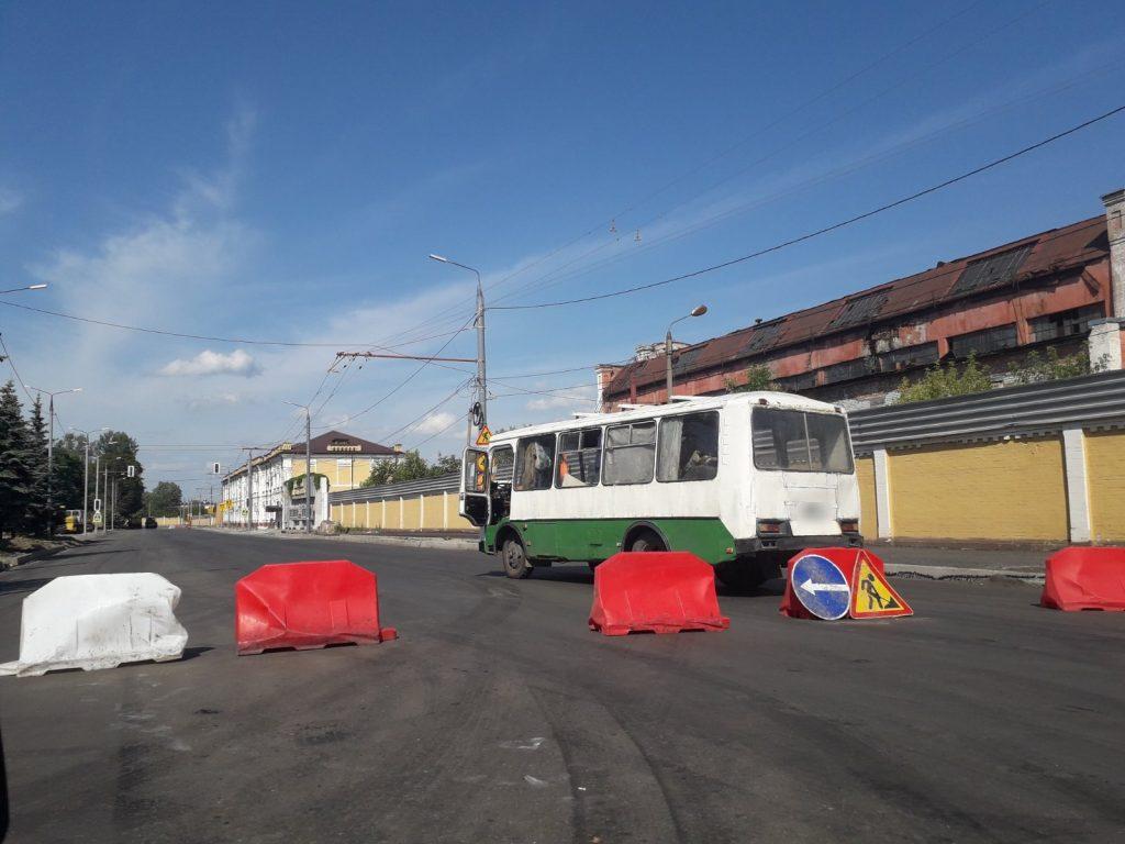 В Брянске из-за ремонта дороги на Ульянова перекрыли несколько улиц
