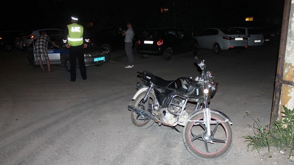 В Новозыбкове задержали 15-летнего водителя мопеда