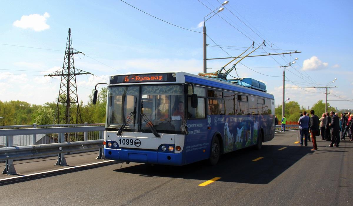В Брянске изменят расписание четырех троллейбусов