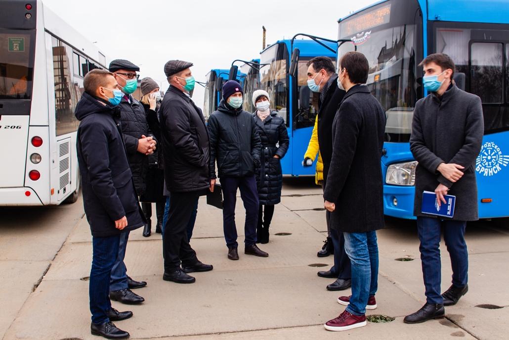 Единый проект планировки конечных остановок разработают в Брянске