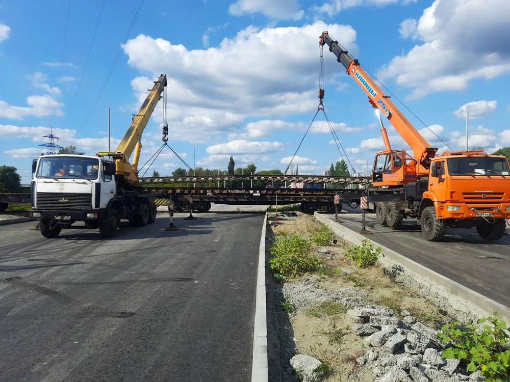 В Брянске заменят железную дорогу на пути строящейся магистрали до ТЦ Metro
