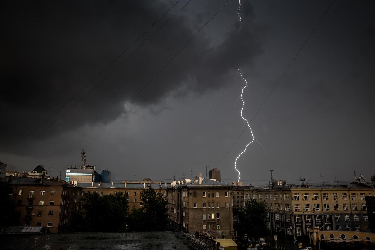 МЧС предупредило о сильном дожде и грозах в Брянской области 25 августа