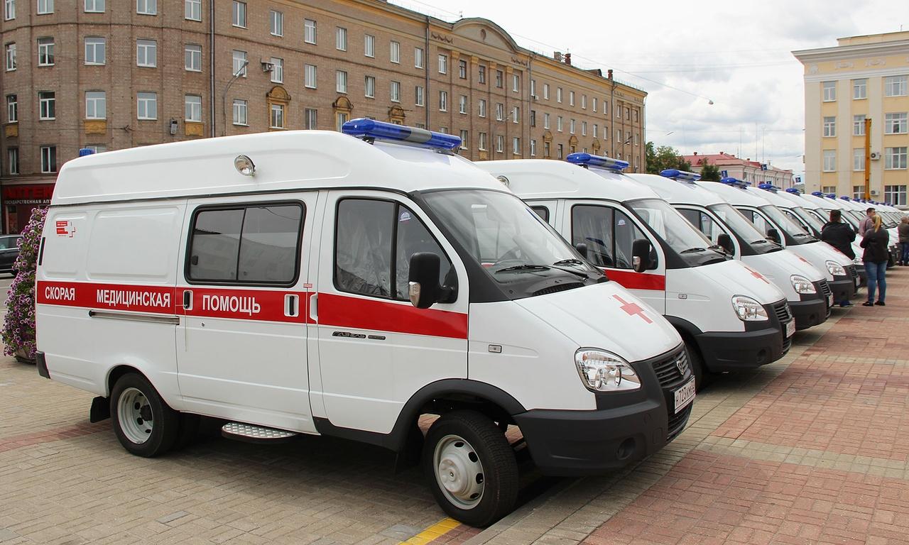 За 6 лет больницы Брянской области получили 210 машин скорой помощи