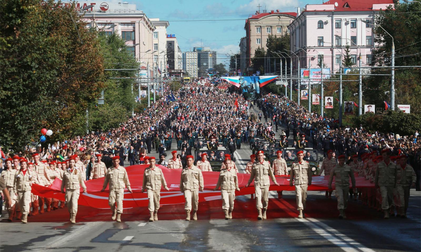 В Брянске в день города из-за коронавируса отменили Парад поколений и народные гуляния