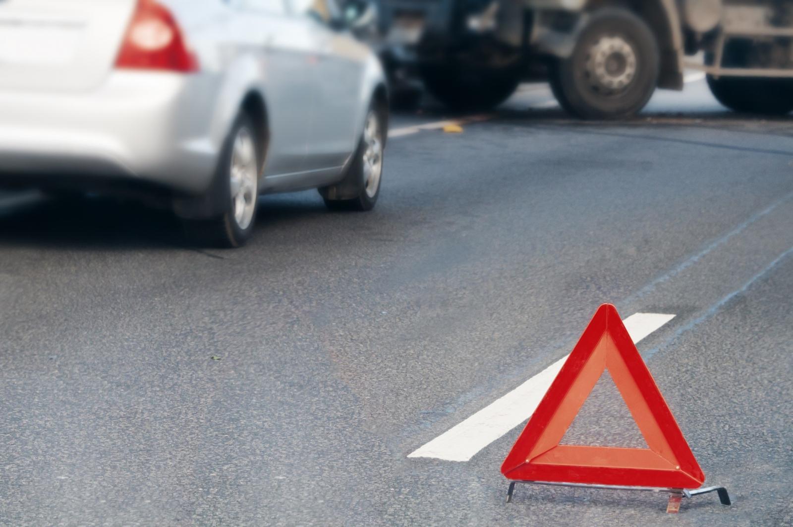 На трассе в Брянском районе произошло ДТП с участием двух легковых автомобилей