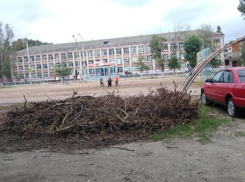 В Фокинском районе Брянска просят привести в порядок стадион у школы №51