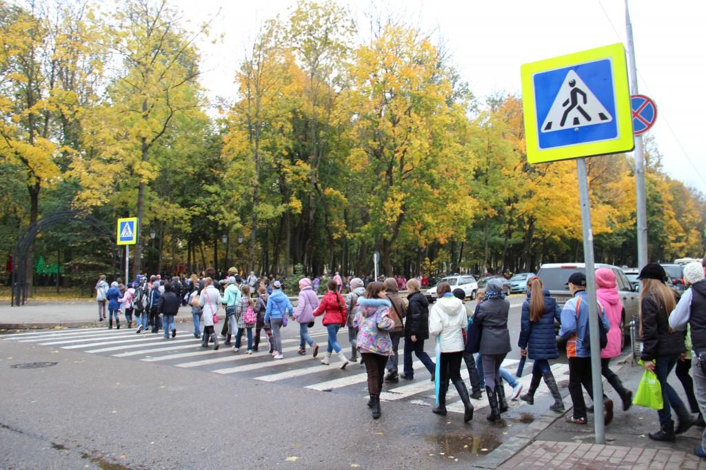 В Новозыбкове сделают безопасными пешеходные переходы у школы и детсада
