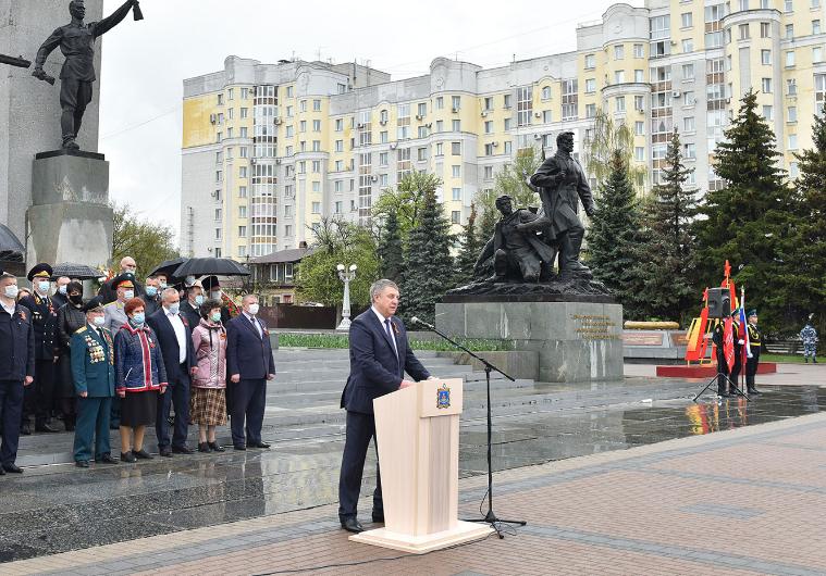 Брянский губернатор Александр Богомаз открыл «Вахту Памяти»