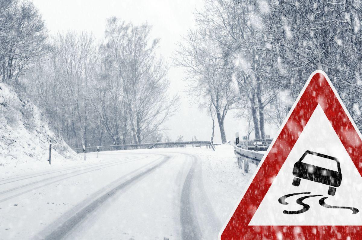 ГУ МЧС предупредило брянцев о гололеде и сильных морозах в ночь на вторник