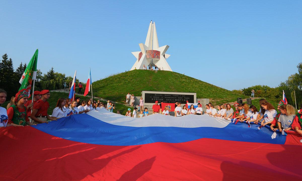 В парке 1000-летия Брянска появилась инсталляция ко Дню города