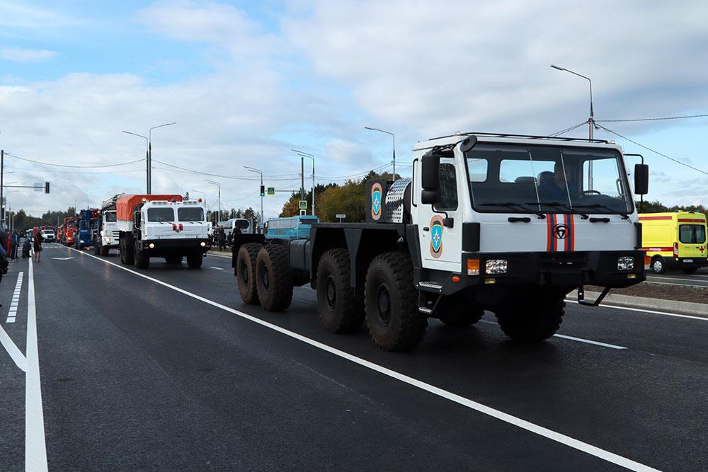 В Брянске торжественно открыли магистраль от вокзала до Фокинского района