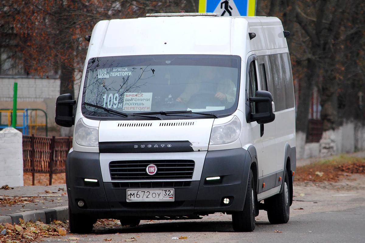 С 15 сентября скорректируют расписание движения маршрута №109н «Брянск-Переторги»