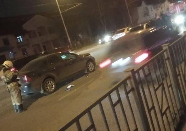 В Брянске в ДТП на улице Ульянова пострадал один человек