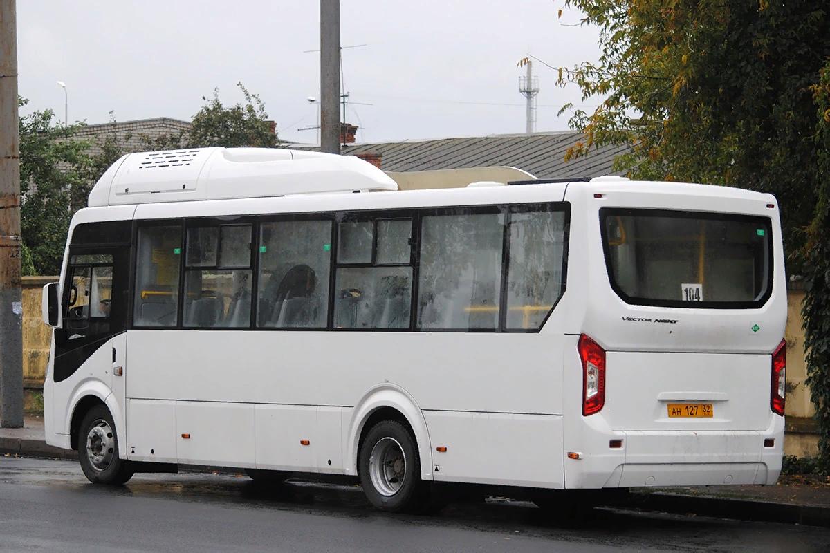 В Брянской области новые газовые автобусы вышли на пригородные маршруты