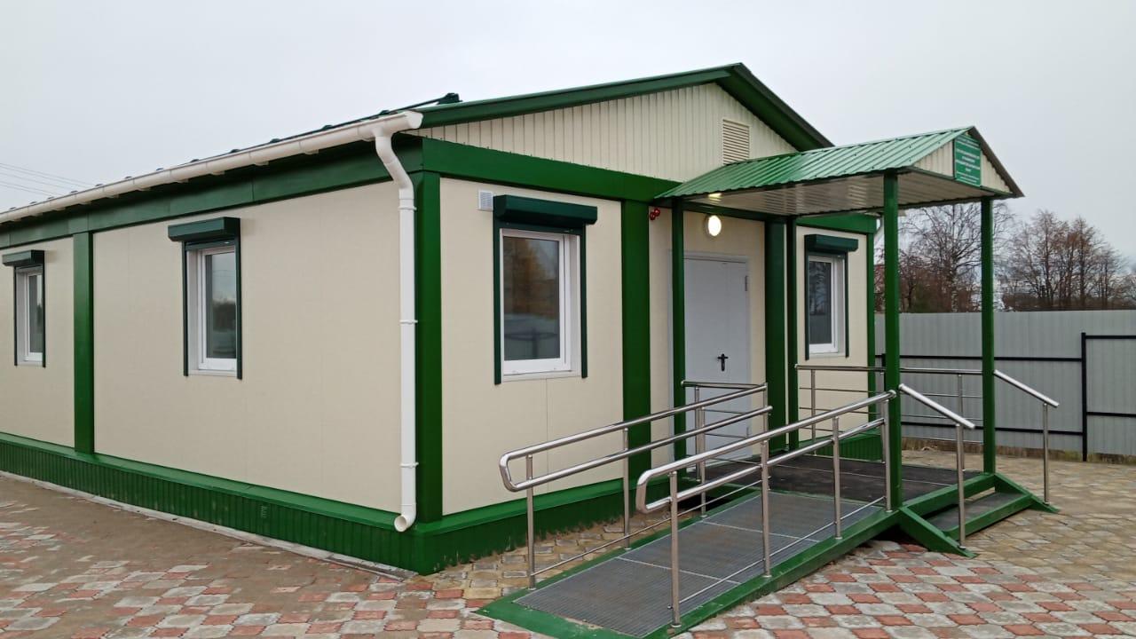 В селе Сосновка Брянской области строится фельдшерско-акушерский пункт