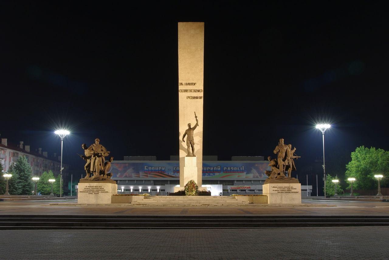 В 2022 году в Брянске отремонтируют парк «Соловьи», площади Ленина и Партизан