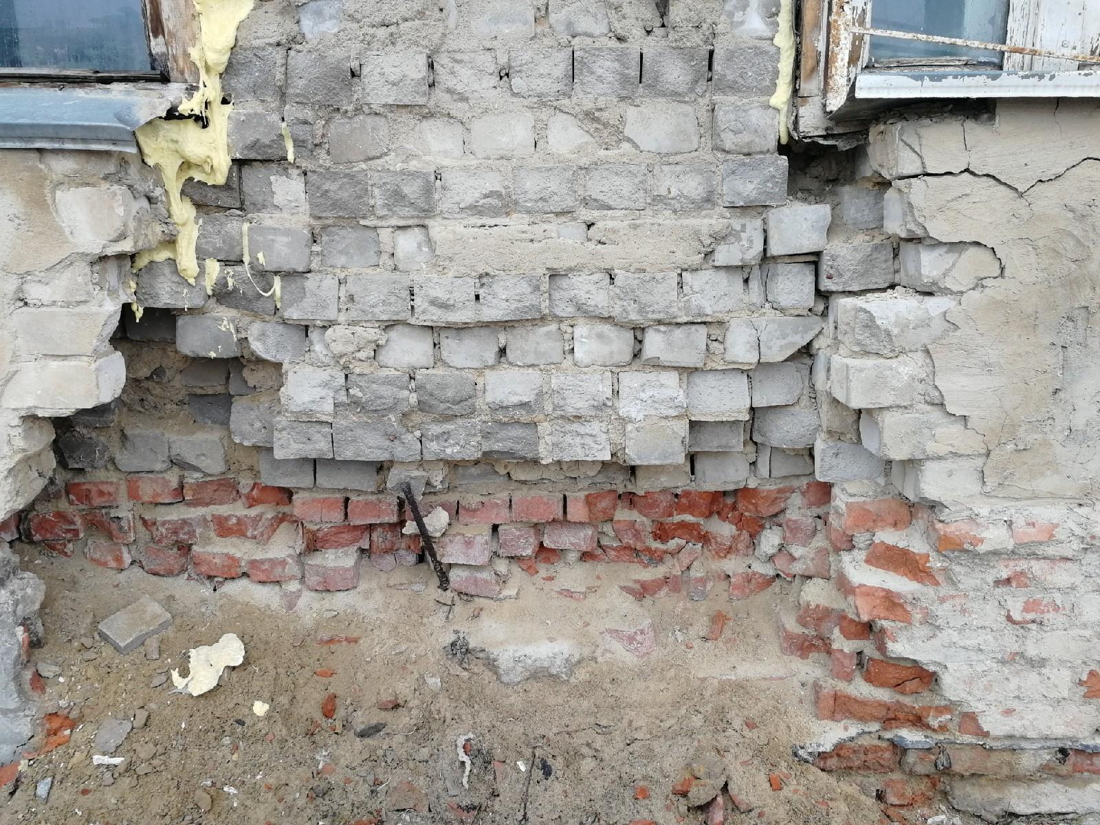 В Брянске ТСЖ наказали за обрушение стены дома №1б на проспекте Московском