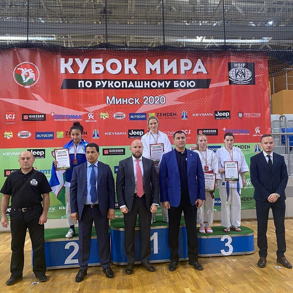 Брянская студентка Кристина Акулова стала призером Кубка мира по рукопашному бою