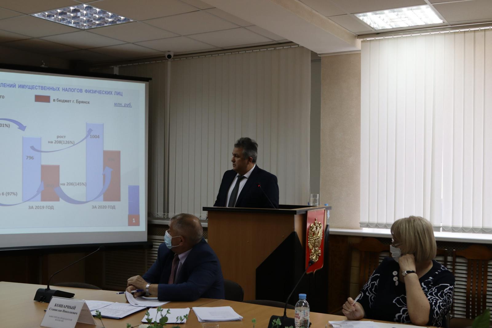 В Брянске за 7 месяцев поступило 13,5 млрд рублей налоговых отчислений