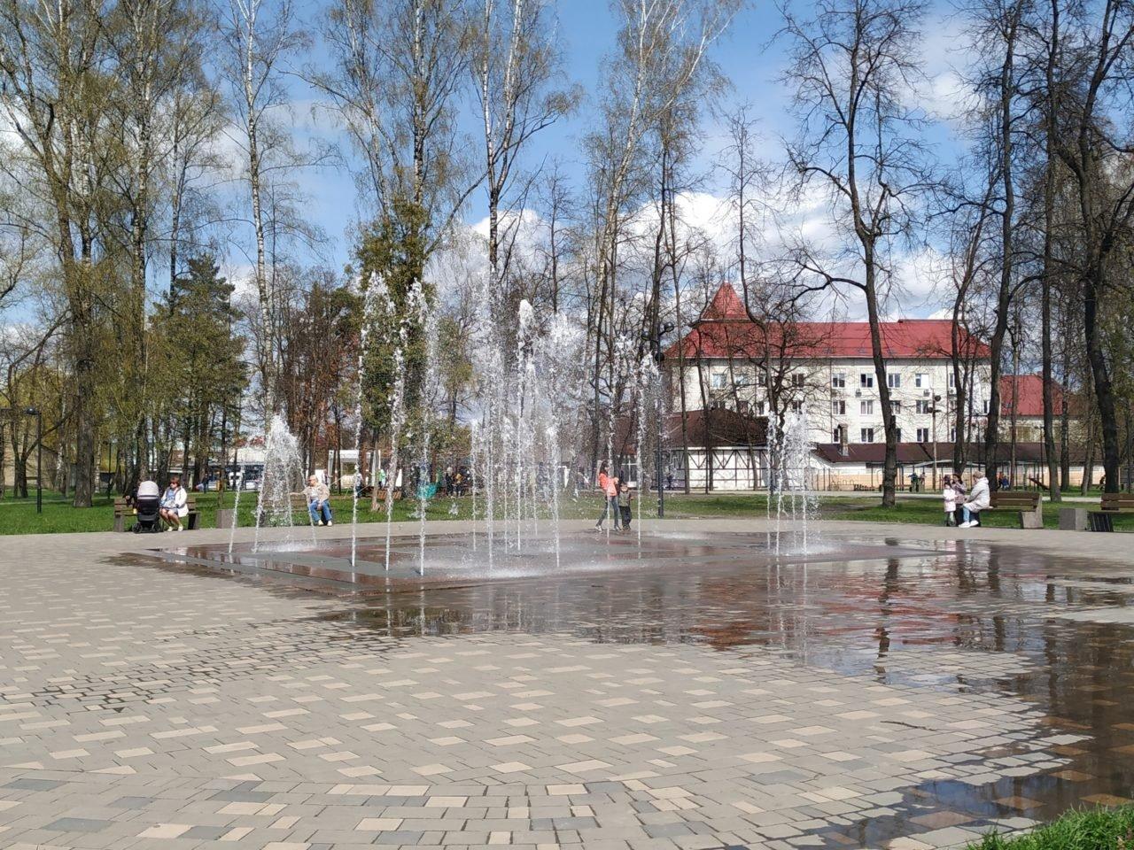 Городской парк благоустроен в Унече Брянской области
