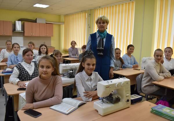В Клетнянской школе№1 оборудовали современный кабинет домоводства