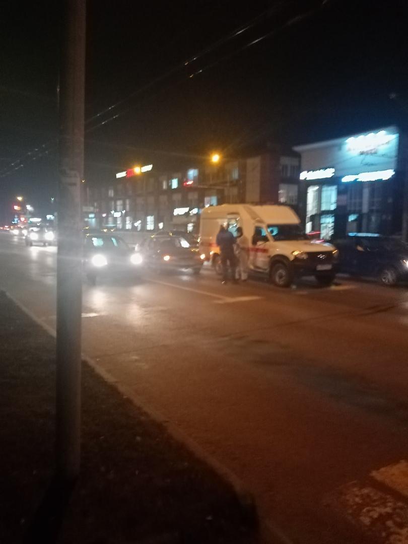 В Брянске произошло ДТП на проспекте Станке Димитрова