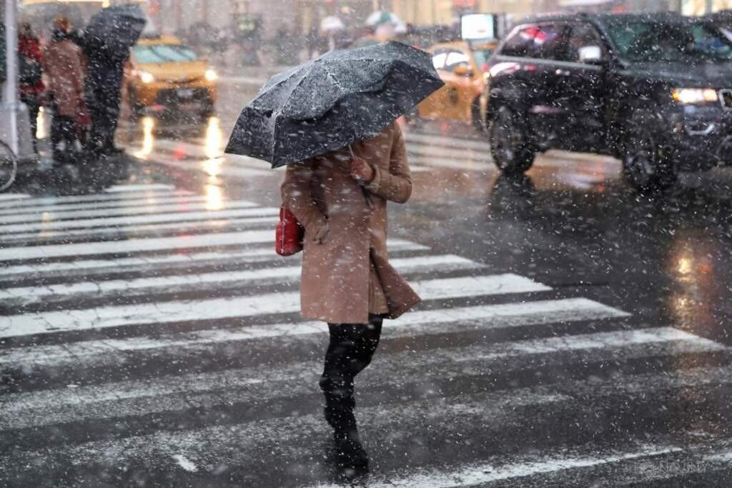 В Брянской области в четверг обещают дождь и мокрый снег