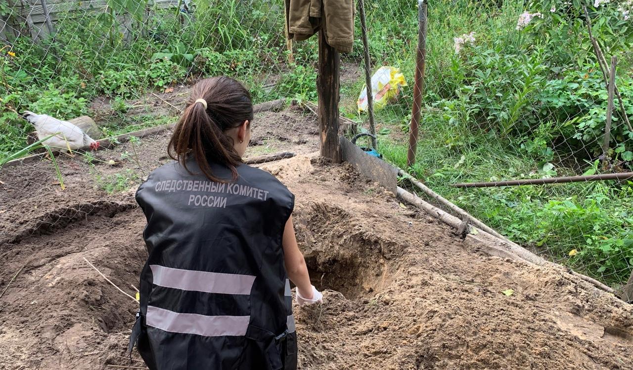 Житель Брянска в Нетьинке убил мать молотком и закопал тело в саду