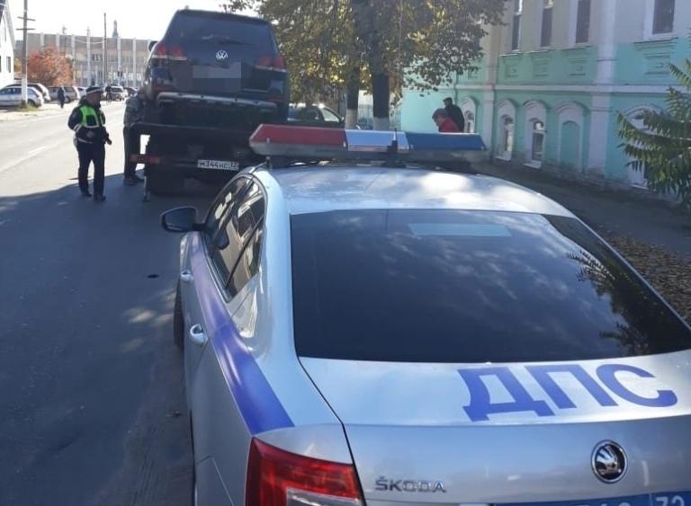 Инспекторы МВД Брянской области отстранили водителя Volkswagen от управления