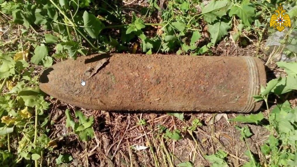 В Почепском районе обезврежен артиллерийскийснарядвремен войны