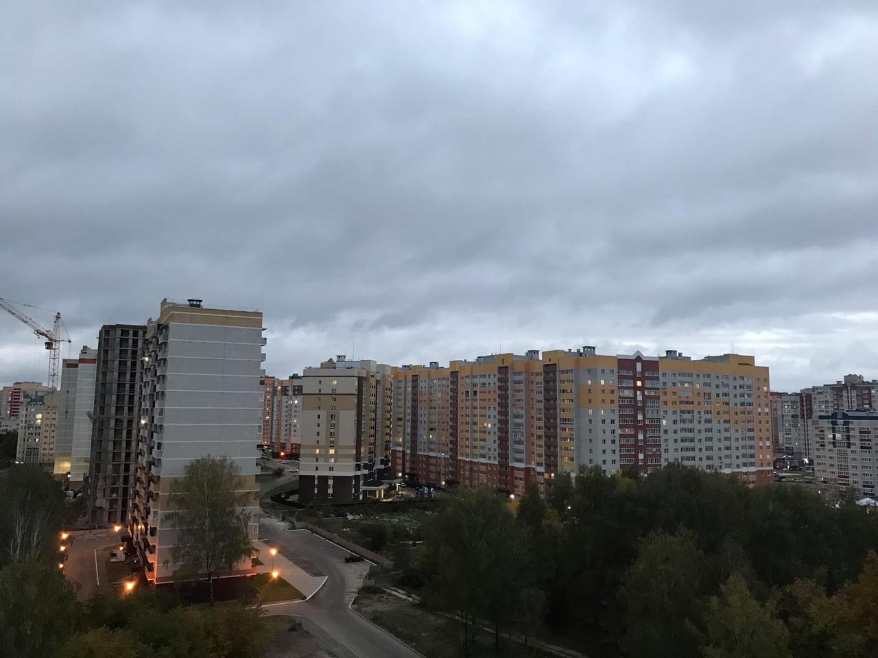 В Брянске из-за дождя объявлен желтый уровень погодной опасности