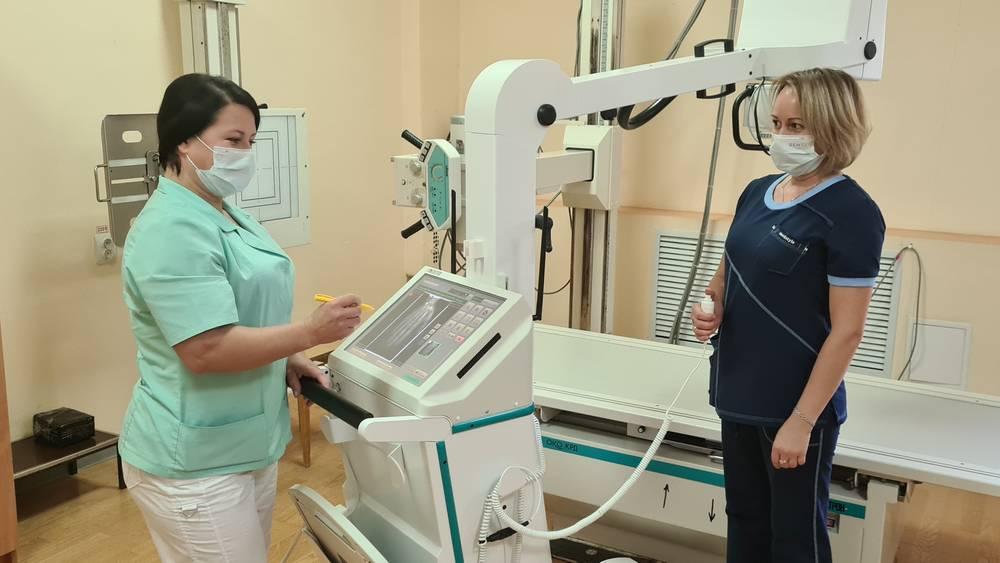 В Карачевском районе Брянщины заменяют старое медицинское оборудование на новое