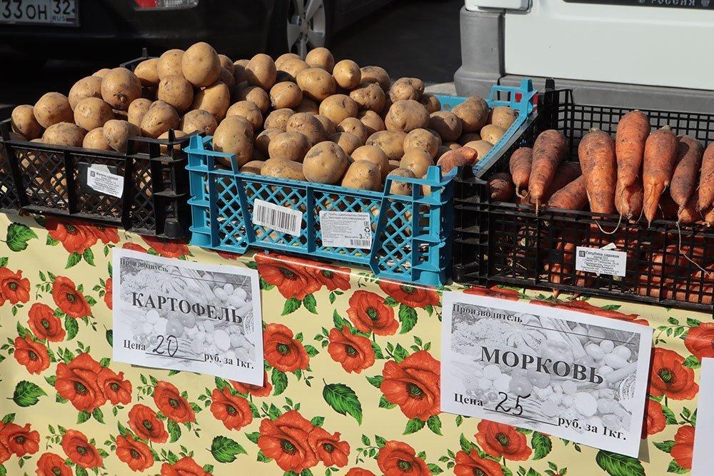 В Брянской области за 8 месяцев на 4,9% выросло производство пищевых продуктов