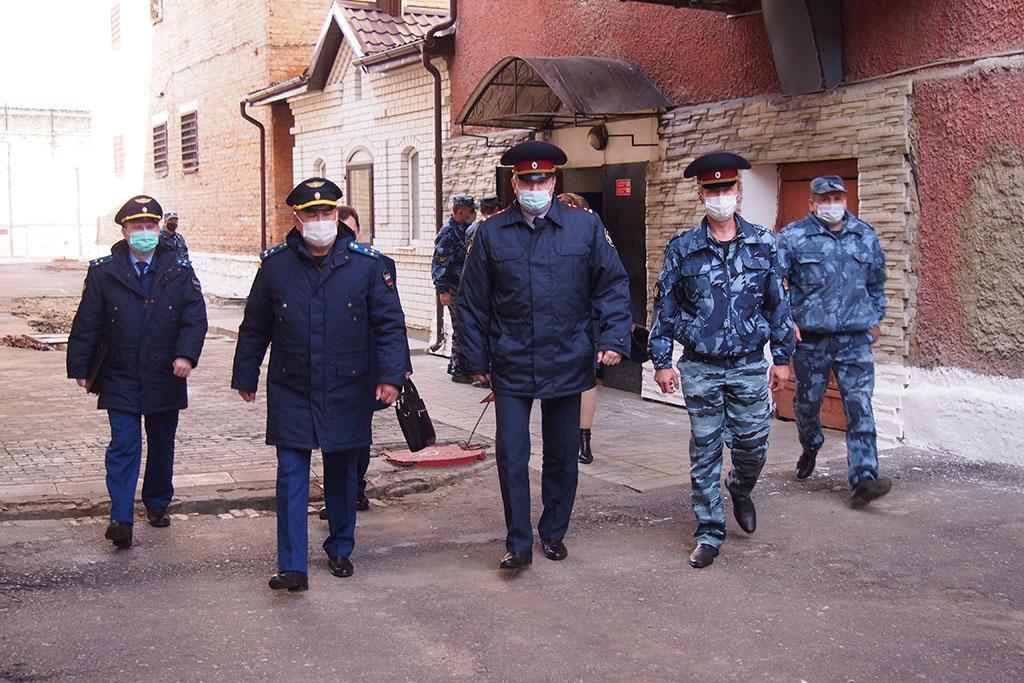 Заместитель прокурора Брянской области Шойсорон Доржиев проверил СИЗО-2 в Новозыбкове