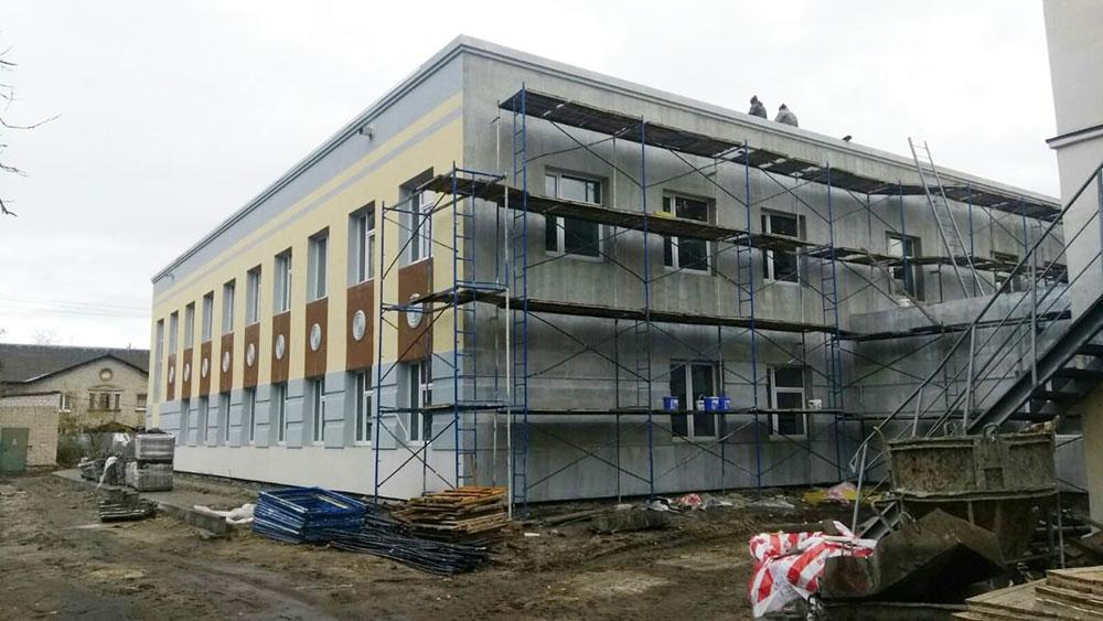 В Брянске для школы искусств №3 достроили новый корпус с теплым переходом