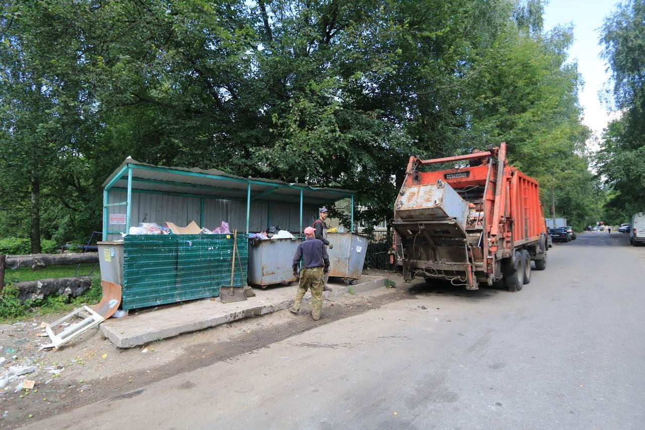 Суд обязал мэрию Брянска навести порядок на 29 контейнерных площадках в Бежице