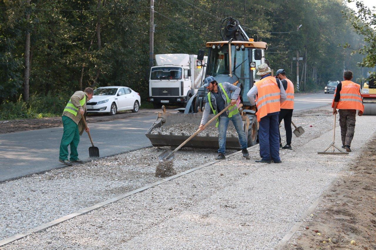 На ремонт дороги на улице Советской в Суземке потратили более 4 миллионов рублей