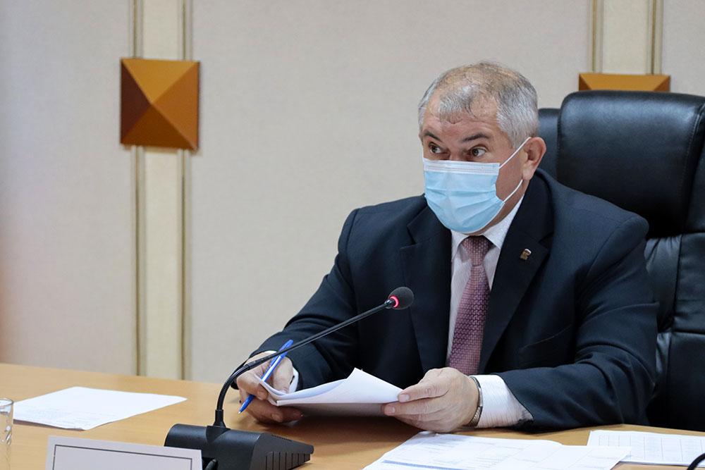 В мэрии Брянска обсудили подготовку к ледоставу