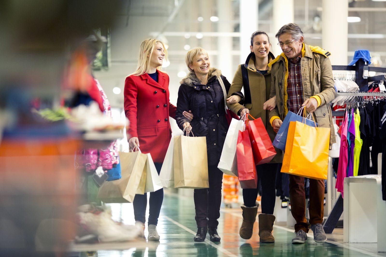 Брянцы с начала года оставили в магазинах 210 млрд рублей