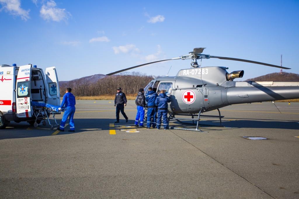 Служба санитарной авиации начала работу в Брянской области
